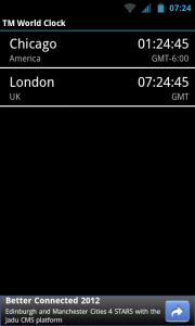 TM World Clock - Desired Clocks