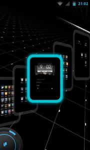 TSF Shell Pro - Navigation between screens