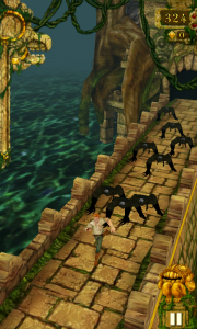 Temple Run - Those monkeys are probably going to rip you to pieces