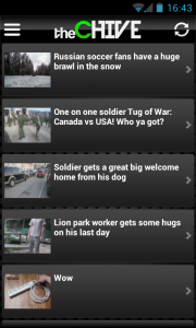 The Chive - Scroll through videos