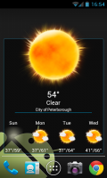 Weatherlove - 4x4 widget