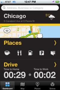 Scout GPS Navigator Dashboard