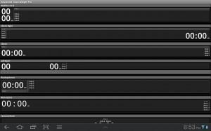 Advanced Clock Widget Configurations