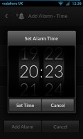 Alarm Clock - Set alarm time