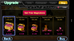 Angels or Devils - Freemium model purchases