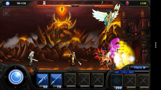 Destiny Defense: Angel or Devil – side-scrolling Attack & Defense game