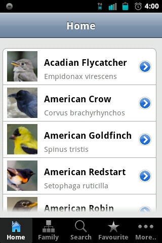 Backyard Birds of America – solid app for Bird Watchers