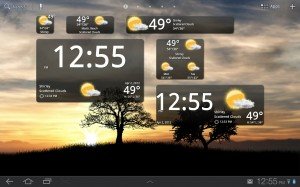 BeWeather Widgets