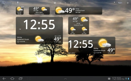 BeWeather – gorgeous Weather app with HD animations