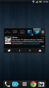 Blingboard - Twitter updates