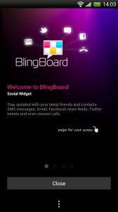 Blingboard - Welcome