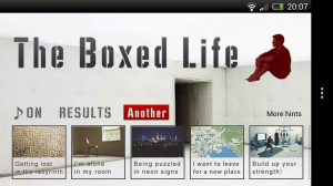 Boxed Life - Main menu