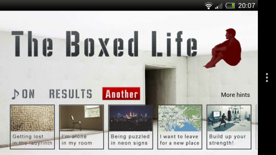 The Boxed Life – this mind-numbing tricky set of puzzles & riddles requires lateral thinking. A puzzler's must-have game!