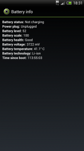 Circle Battery Widget - Easy access to battery information