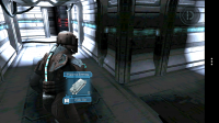 Dead Space - Pick up and collect items
