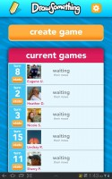 Draw Something Game List