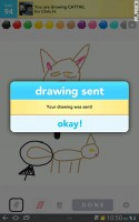 Draw Something Send