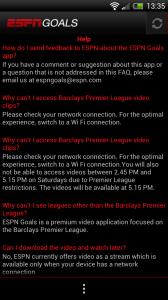 ESPN Goals - Help