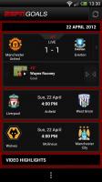 ESPN Goals - Live score