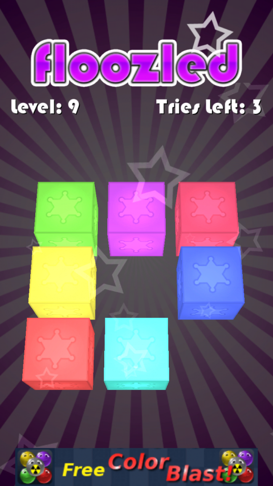 Floozled – check out this addictive starry Memory game