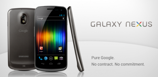 Google Selling Unlocked HSPA+ Galaxy Nexus for $399