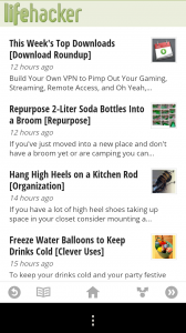 Google Currents - Story list
