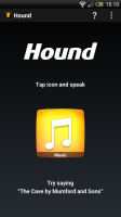 Hound - Main screen