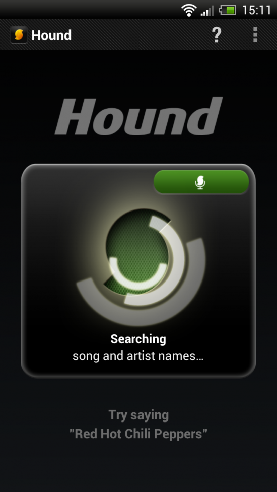 Hound – the Voice Search app for Finding Music