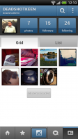 Instagram - Pictures in grid