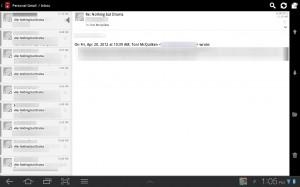 Kaiten Mail Inbox