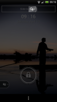 Lockview Lockscreen - Volume slider