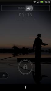 Lockview Lockscreen - Volume slider