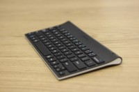 Logitech Tablet Keyboard Side Angle View