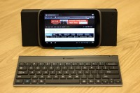 Logitech Tablet Keyboard with Tablet and Stand