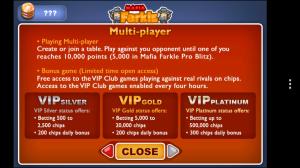 Mafia Farkle - Multiplayer options