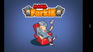 Mafia Farkle - Splash page