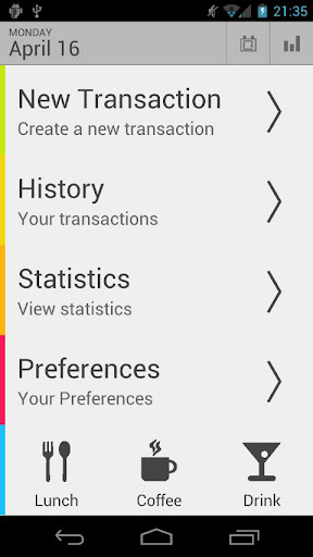 Money Tab is an easy-to-use manual Budget Tracker for beginners