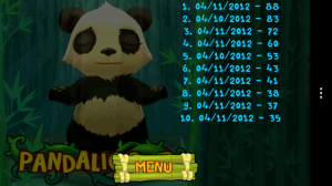 Pandalicious - High scores