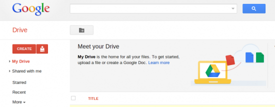 Google launches Google Drive, 5GB of integrated online storage