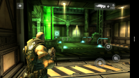 Shadowgun - Onscreen controls are relatively discreet