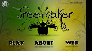 Treemaker - Main menu