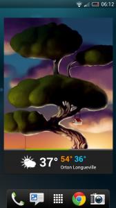 Weatherwise - Large widget