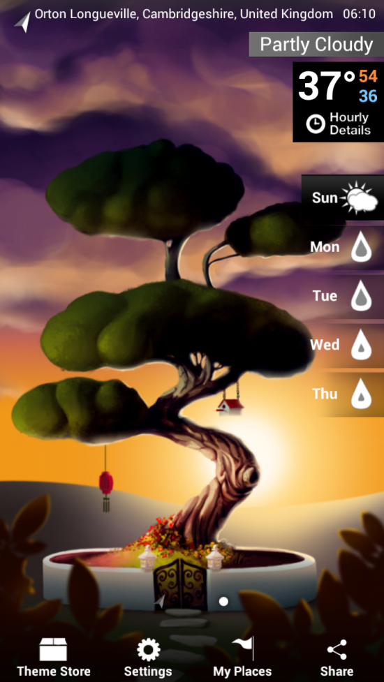 Weatherwise – zenfully creative new Weather App for Android