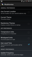 Weatherwise - Preferences