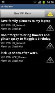 WiFi Alarm New Alarm