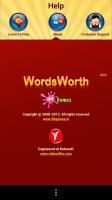 WordsWorth - Help