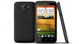 HTC One X, in grey
