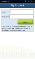 thetrainline - Account access