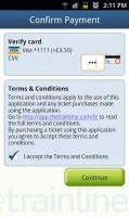 thetrainline - Confirm payment