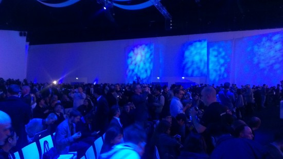 Venue was rammed with media, partners and Samsung reps from around the world.
